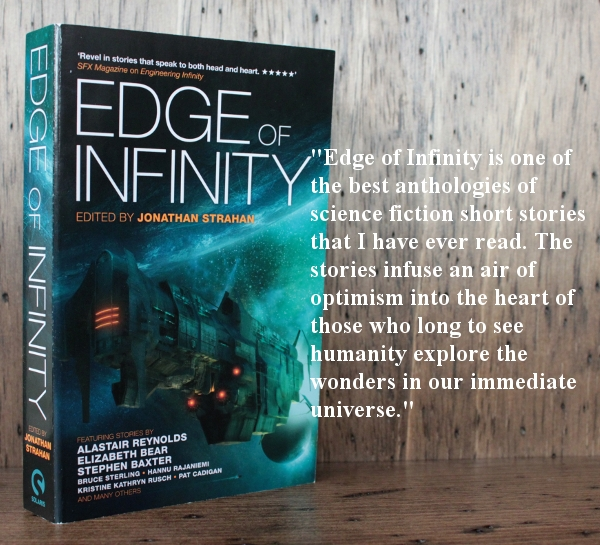 Image and link to Review of Edge of Infinity from Stainless Steel Droppings